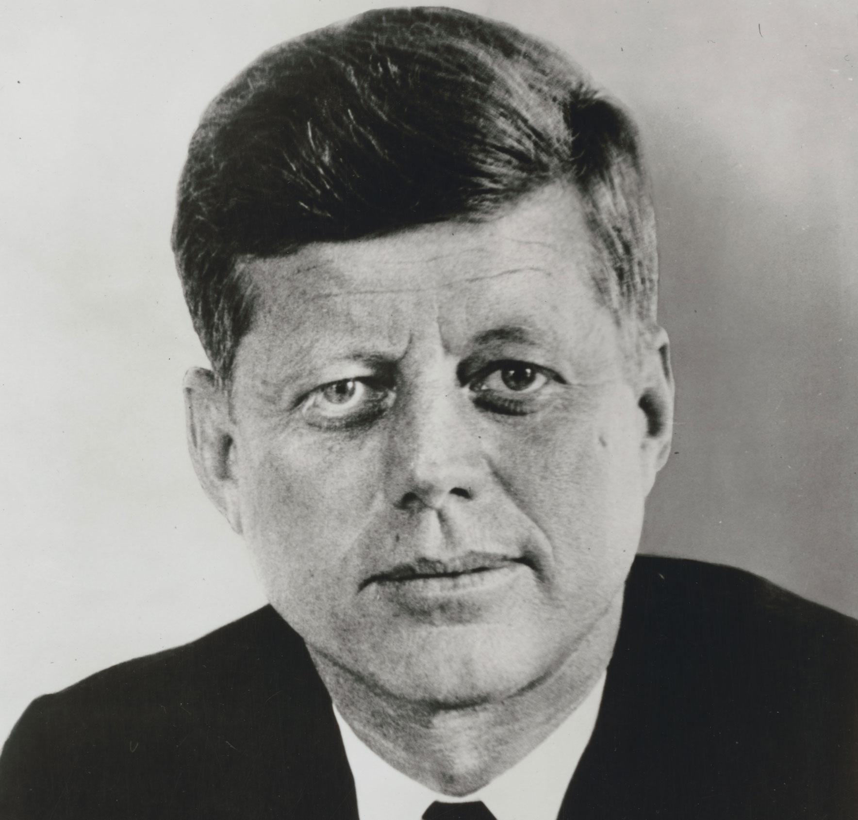 Porträt John F. Kennedy