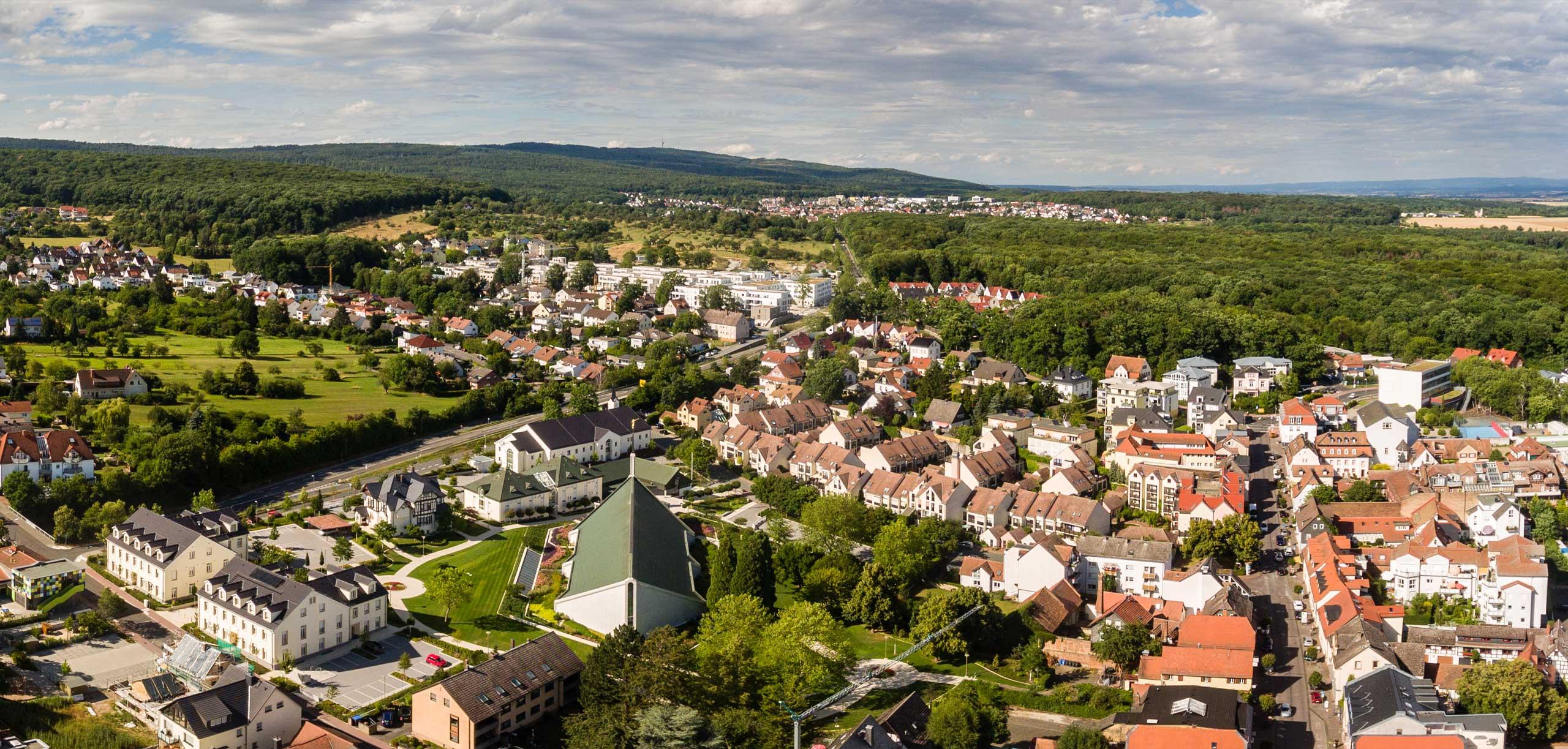 Luftaufnahme von Friedrichsdorf