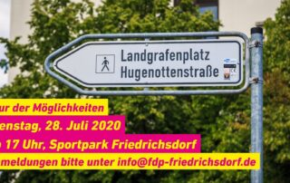 Jochen Kilp - FDP - Einladung - 1. Tour der Möglichkeiten