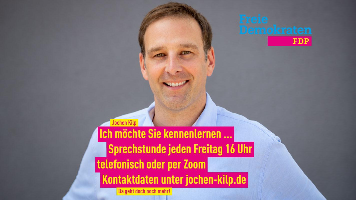 Porträt Jochen Kilp - Bürgermeister-Kandidat Friedrichsdorf