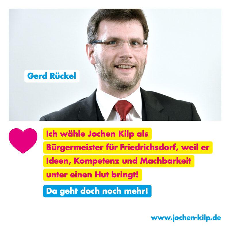 Testimonial Gerd Rückel