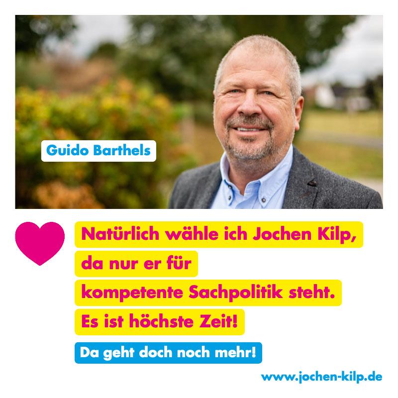 Testimonial Guido Barthels
