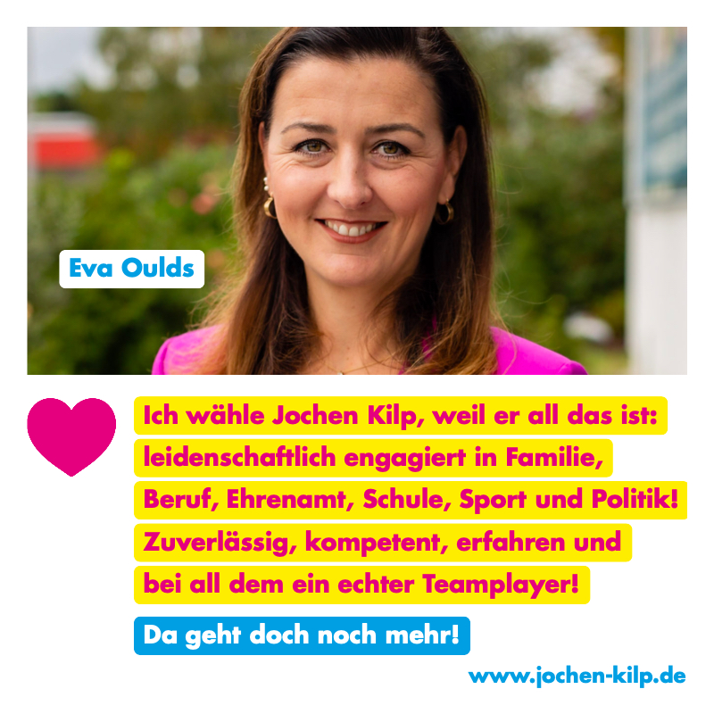 Testimonial - Eva Oulds - Kommunalwahl Friedrichsdorf 2021