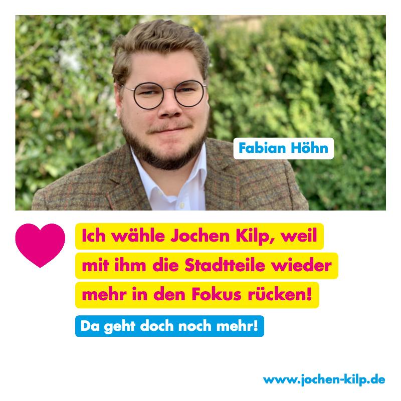Testimonial - Fabian Hoehn - Kommunalwahl Friedrichsdorf 2021