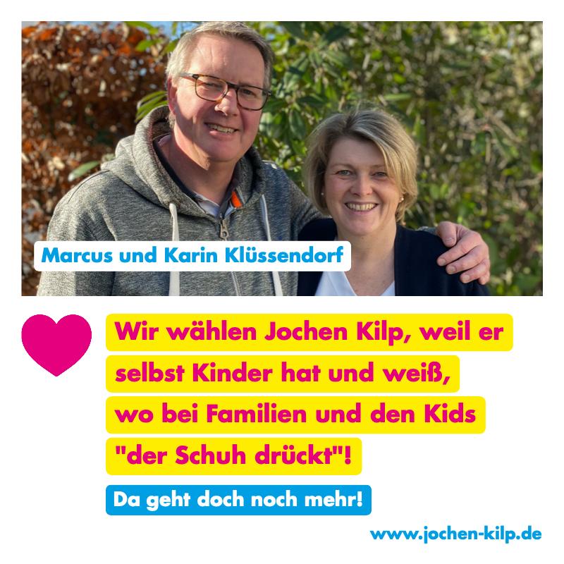 Testimonial - Klüssendorf - Kommunalwahl Friedrichsdorf 2021