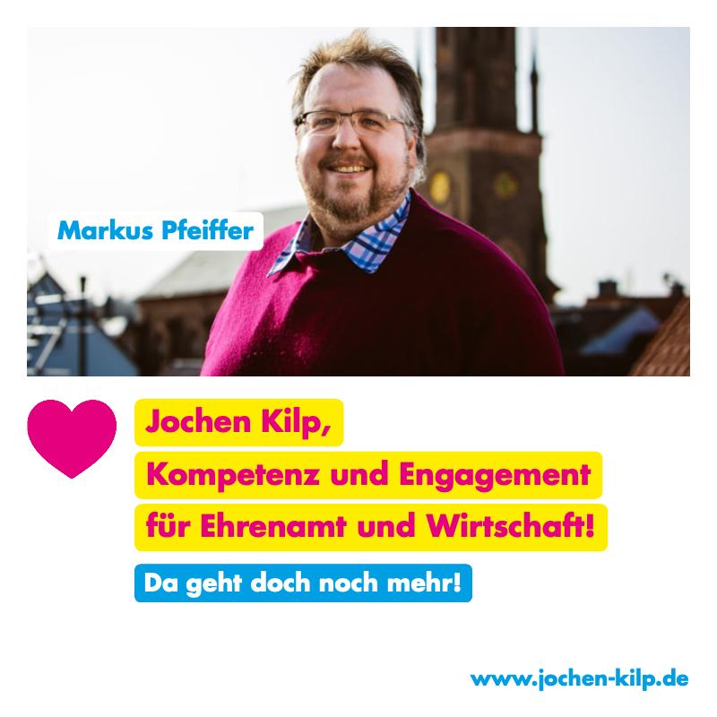Testimonial - Markus Pfeiffer - Kommunalwahl Friedrichsdorf 2021